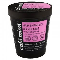 Balzam za kosu 3D volumen za tanku i oštećenu kosu Café Mimi 220ml