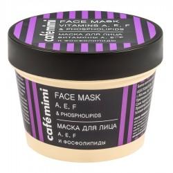 Maska za lice sa vitaminima A, E, F i fosfolipidom Café Mimi 110ml